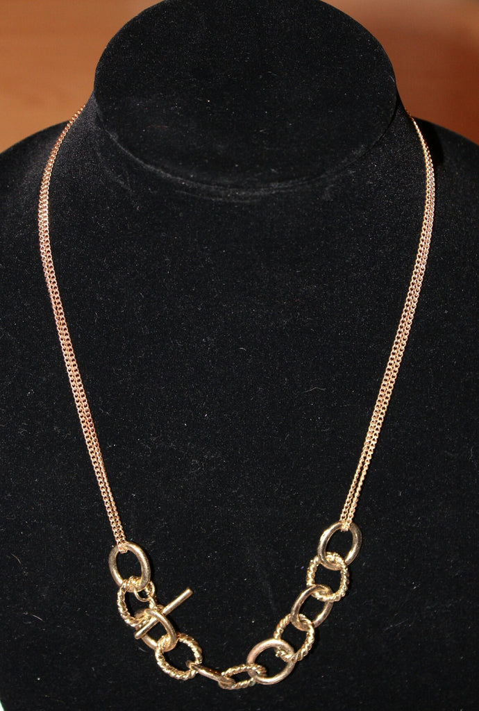 Women's Gold Statement Necklace