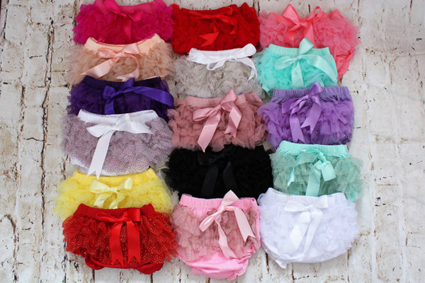 Baby Ruffle Diaper Cover Bloomers