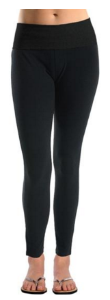 Women's Black Skinny Leggings