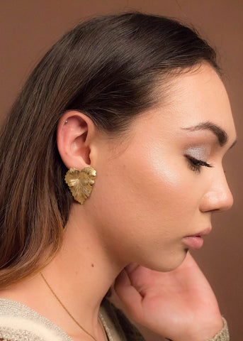 Cheetah Acrylic Earrings