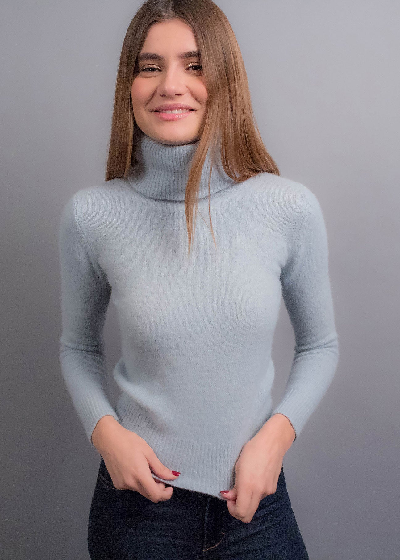 90s Cropped Angora Sweater
