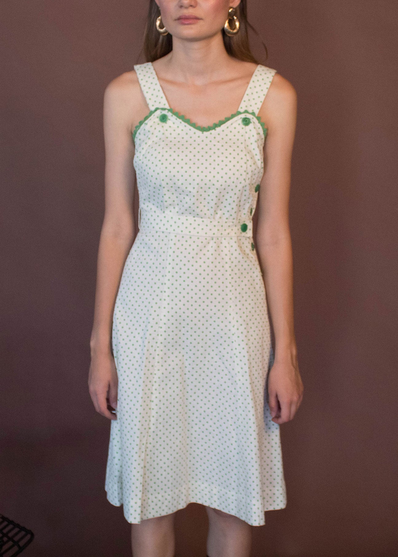 40s Polka Dot Dress