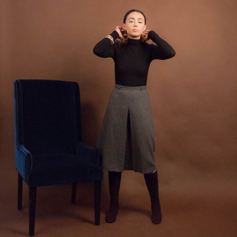 50s Knit Stirrup Pants