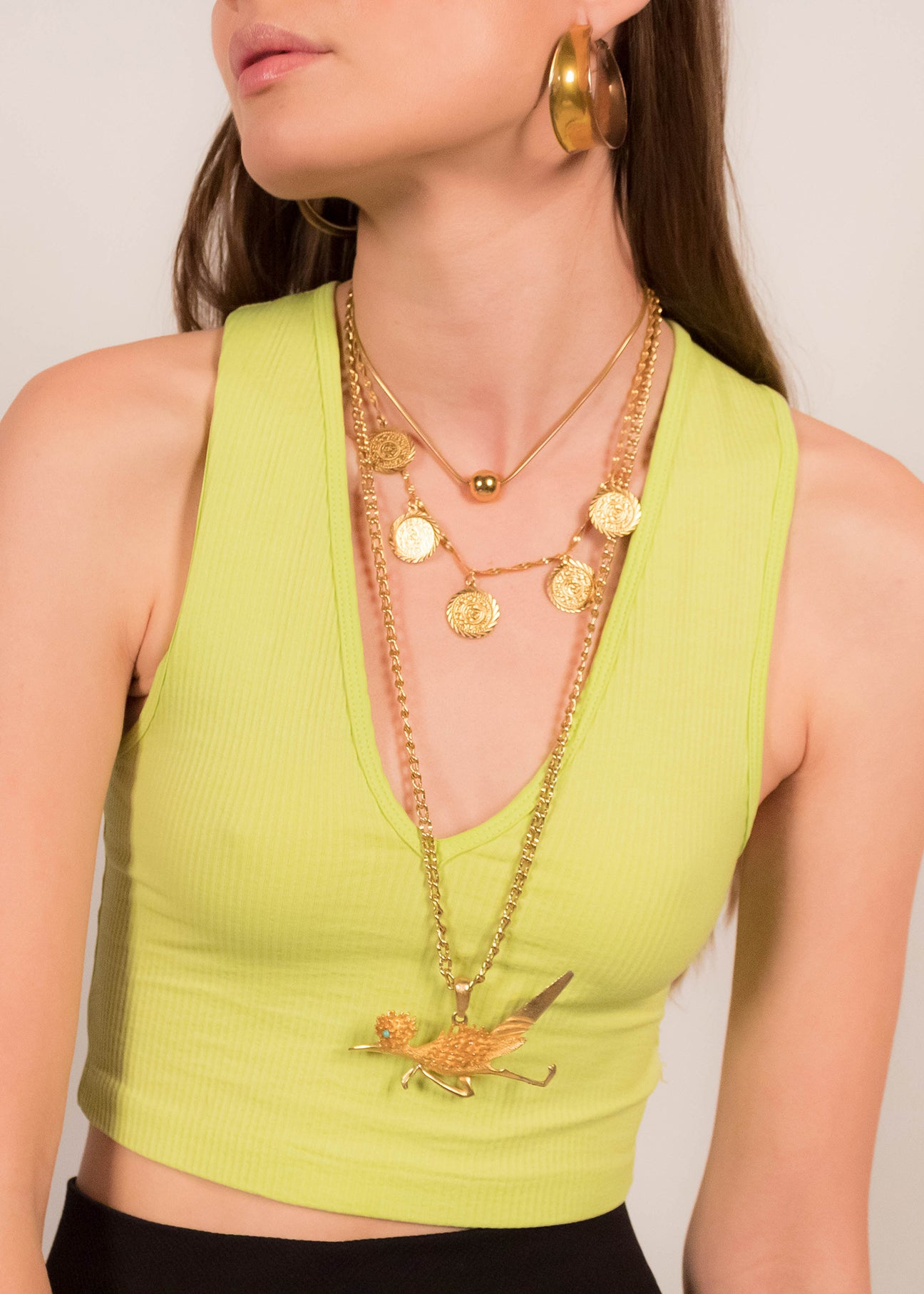 60s Road-Runner Necklace
