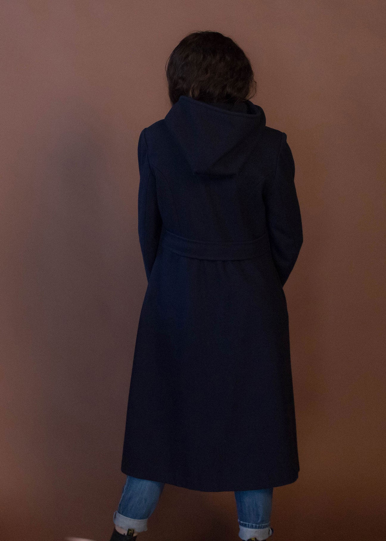 60s Double-Breasted Wool Coat