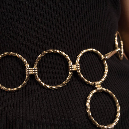 70s Circle Chain-Link Belt