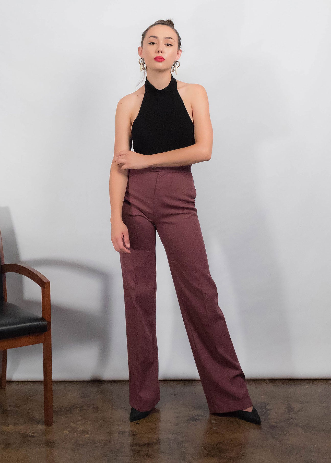 70s Wide-Leg Trousers