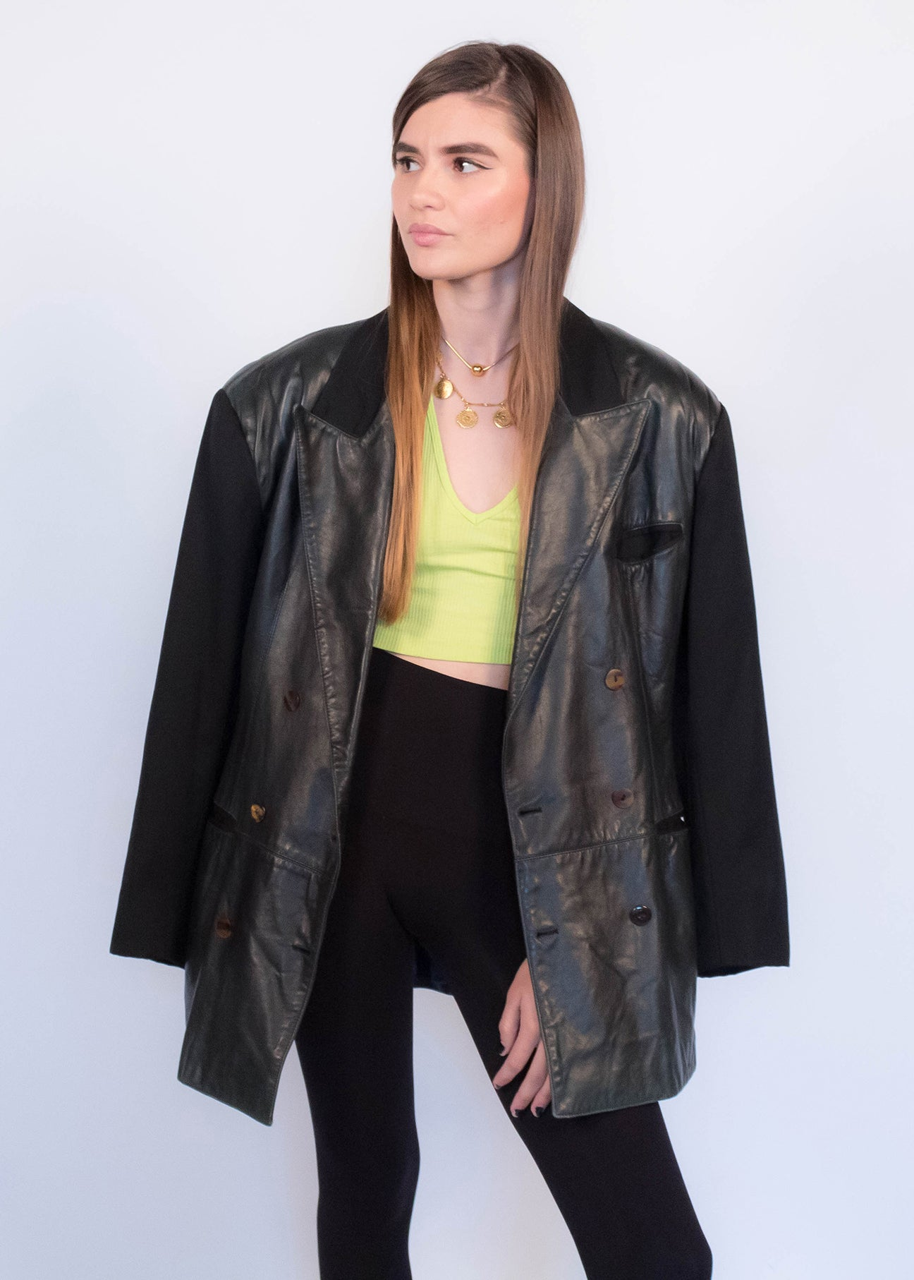 80s Jean Paul Gaultier Leather Jacket