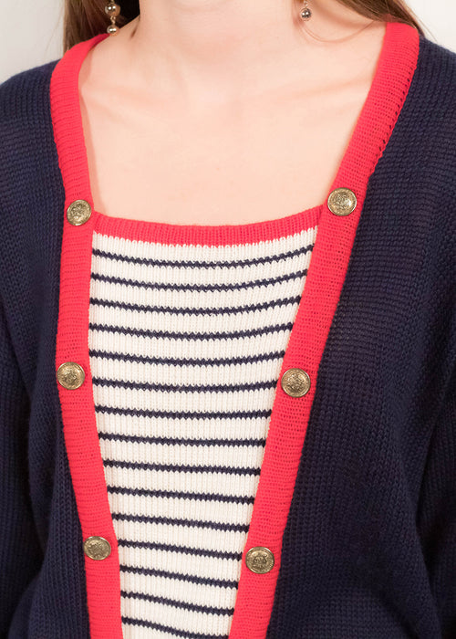 80s Nautical Sweater
