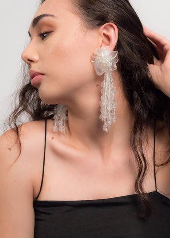 Detachable Floral Earrings
