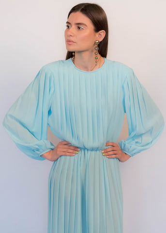 70s Cape Sleeve Dress