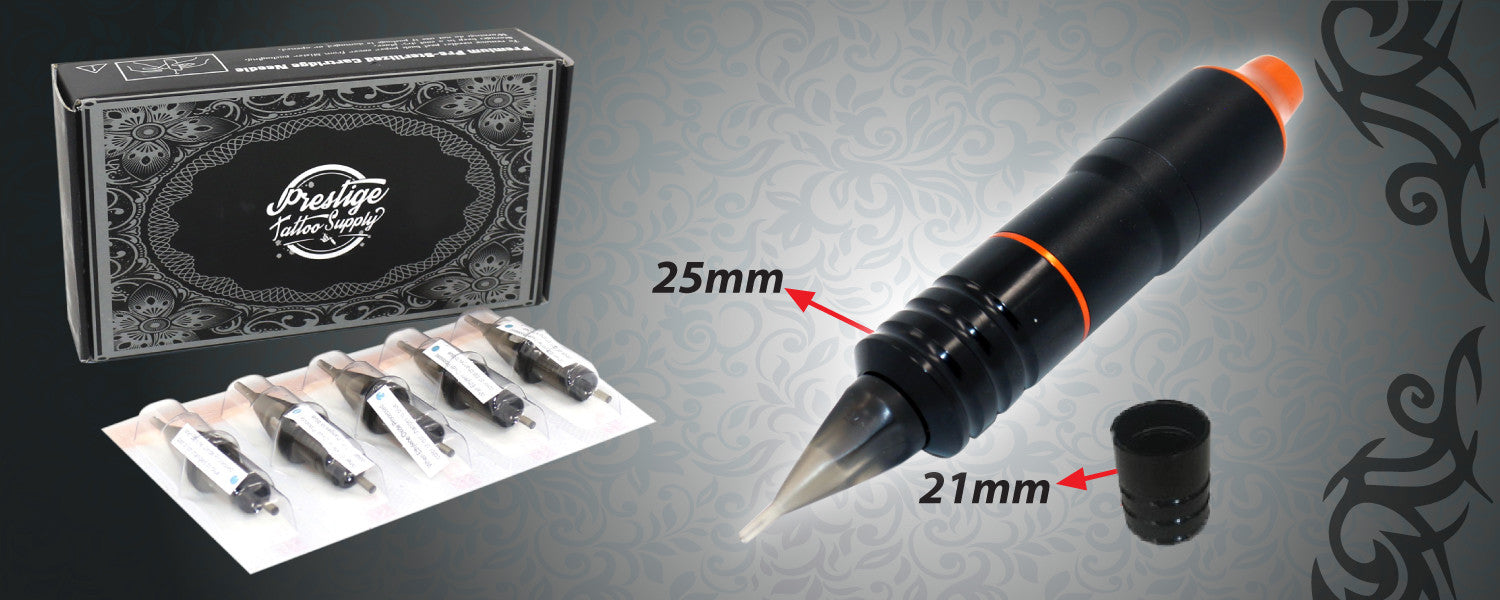 prestige rotary pen and cartridge needles