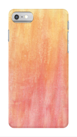 Orange Abstract Phone Case