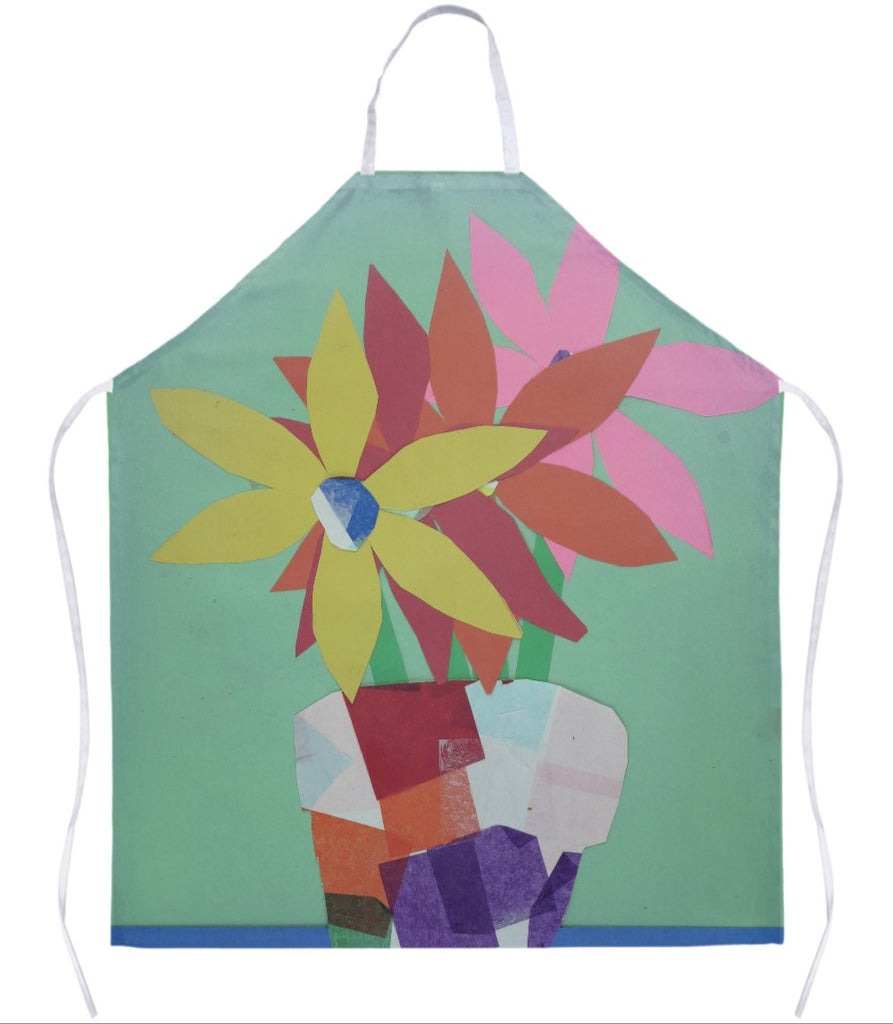 Pot of Flowers Apron