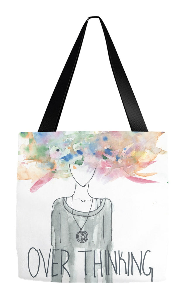 Over Thinking Tote Bag