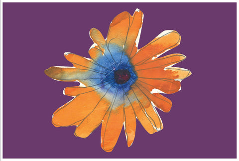 Orange Flower Desktop Canvas