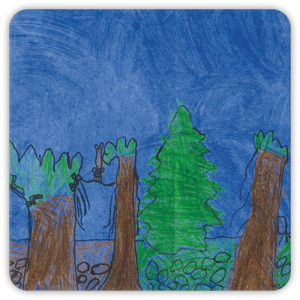 Forest Scene Coasters