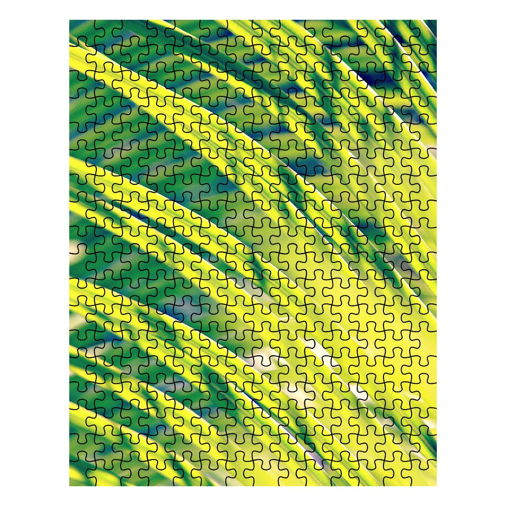 Tropical Abstract Jigsaw Puzzle