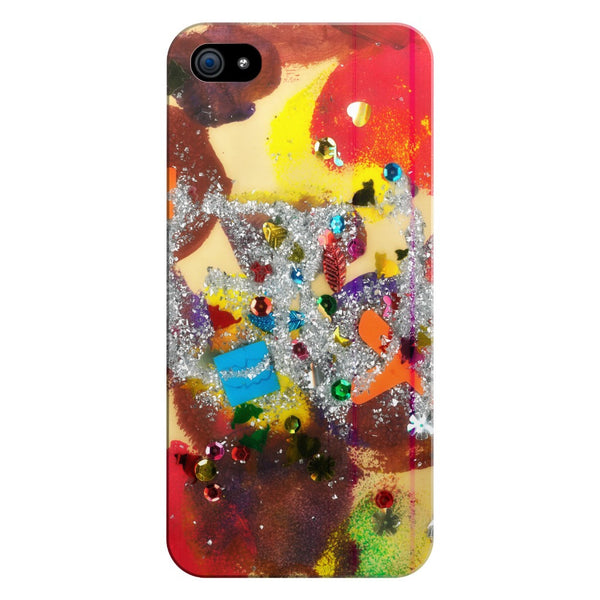 Glitter Abstract Phone Case