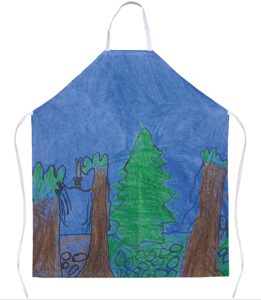 Forest Scene Apron