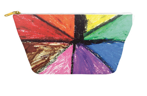 Rainbow Palette Accessory Pouch