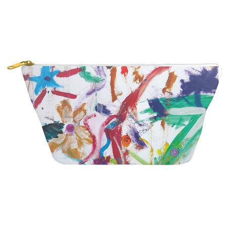 Bright Abstract Accessory Pouch