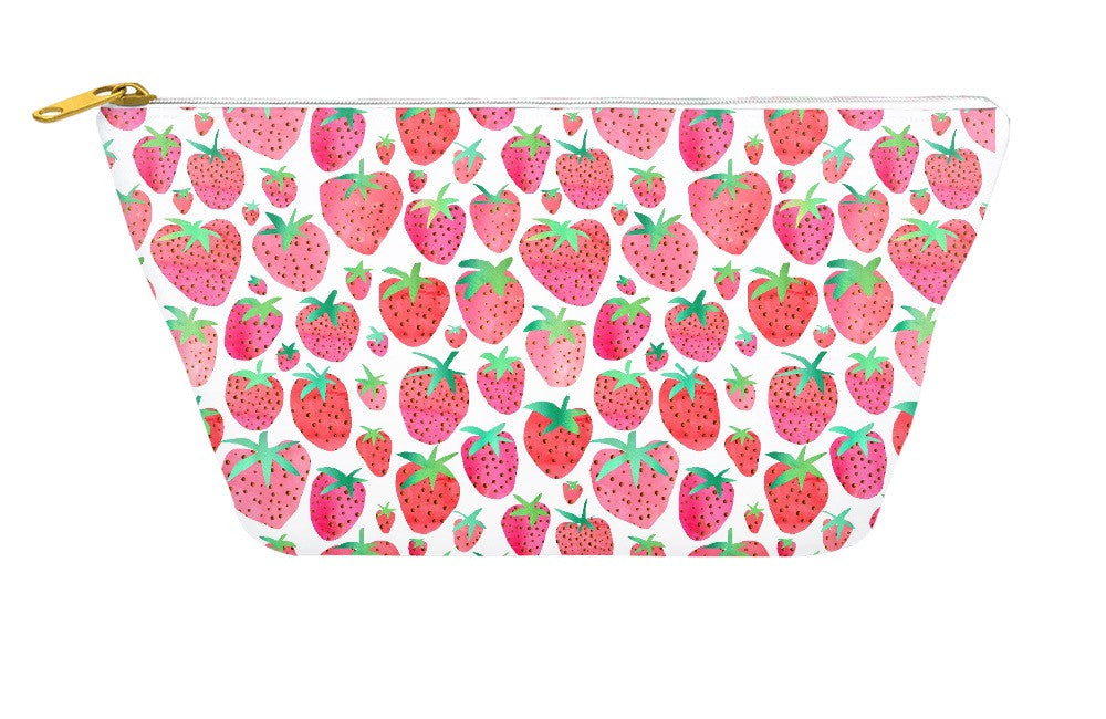 Strawberries Accessory Pouch