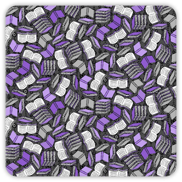 So Many Books Coasters