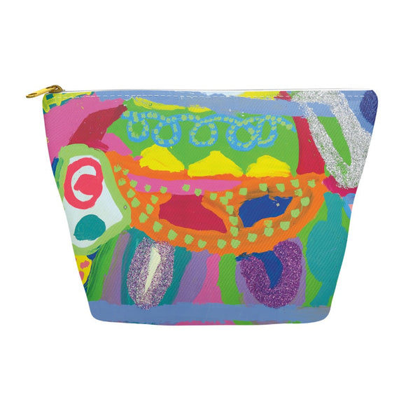 Abstract Glitter Animal Accessory Pouch