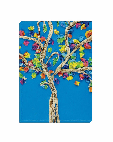 Spring Blossoms Wrapped Canvas