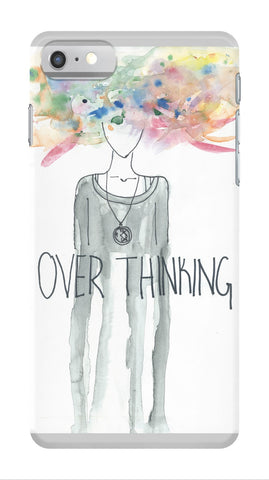 Over Thinking Phone Case