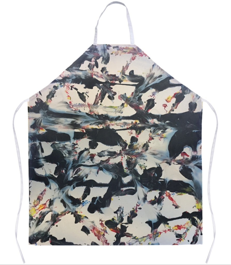 Abstract Tracks Apron