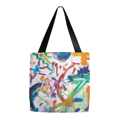 Bright Abstract Tote Bag