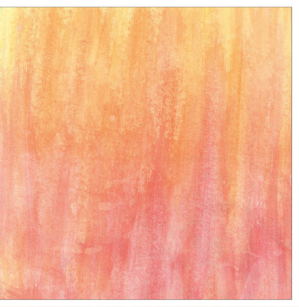 Orange Abstract Note Cards