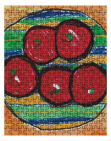 Bowl of Apples Jigsaw Puzzle