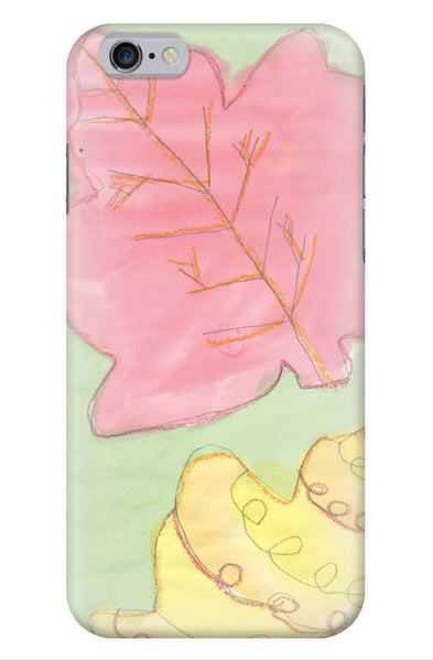 Soft Autumn Leaves Phone Case