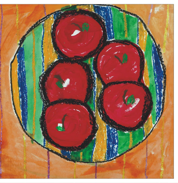 Bowl of Apples Note Cards