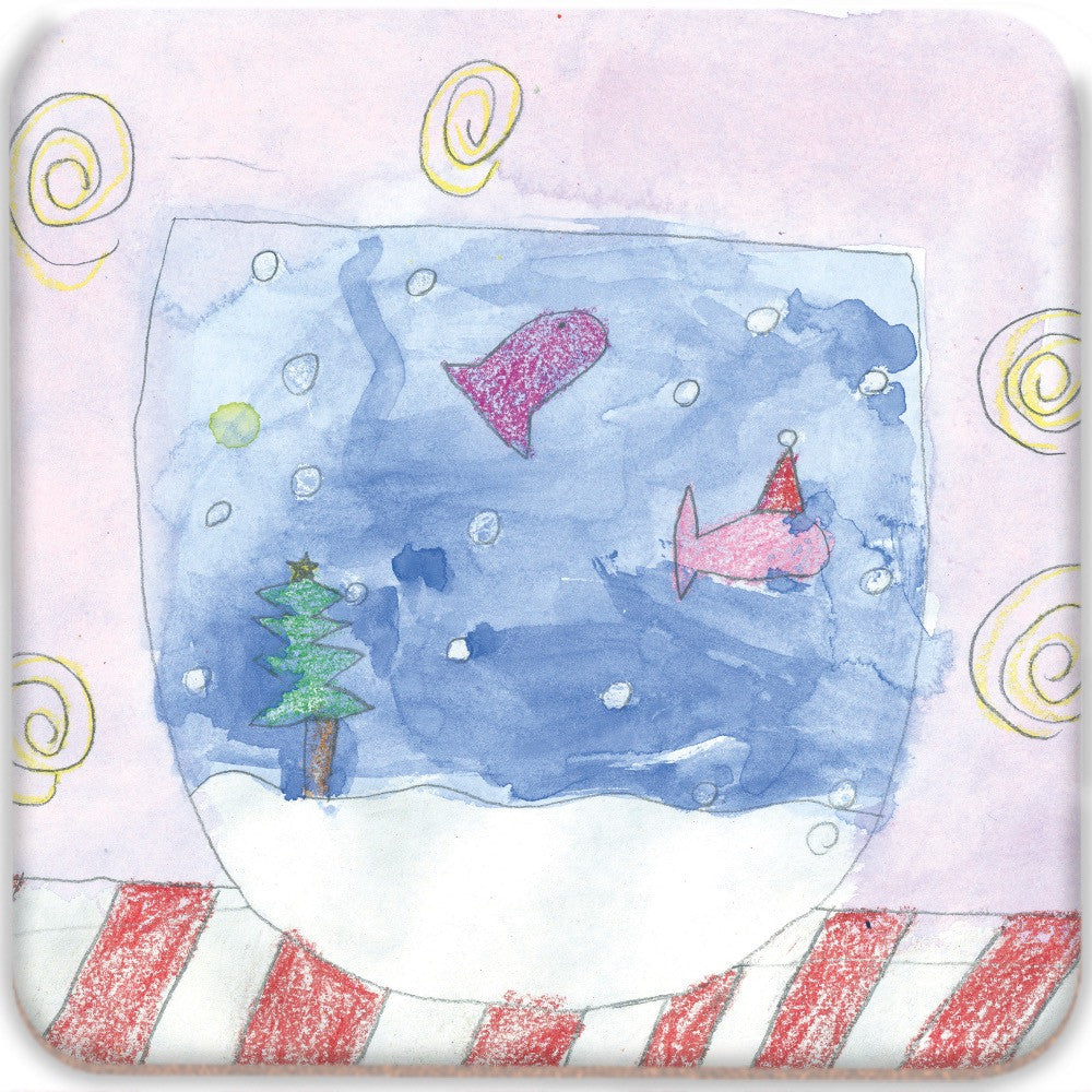 Christmas Fish Coasters