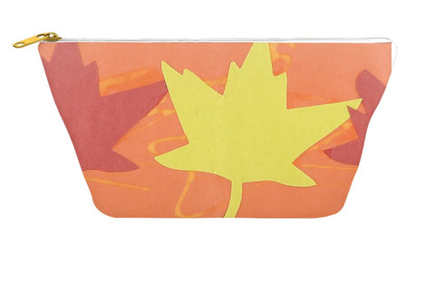 Autumn Leaves Accessory Pouch