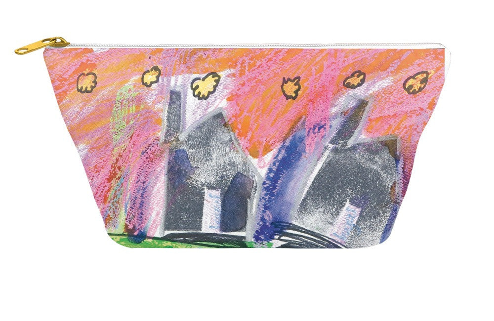 Four Houses Accessory Pouch