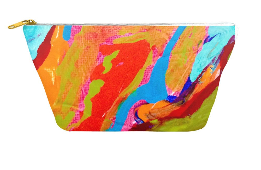 Marbled Paint Accessory Pouch