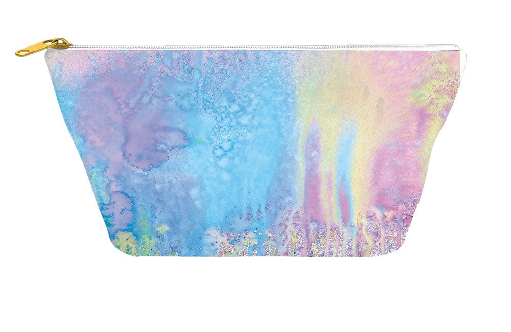 Pastel Splatter Paint Accessory Pouch