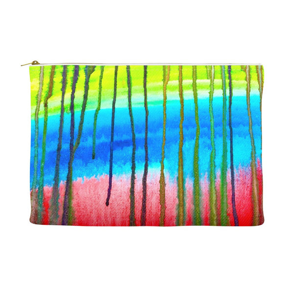 Colorful Icicle Abstract Accessory Pouch