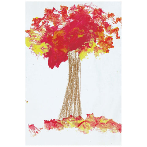 Red Tree Desktop Canvas