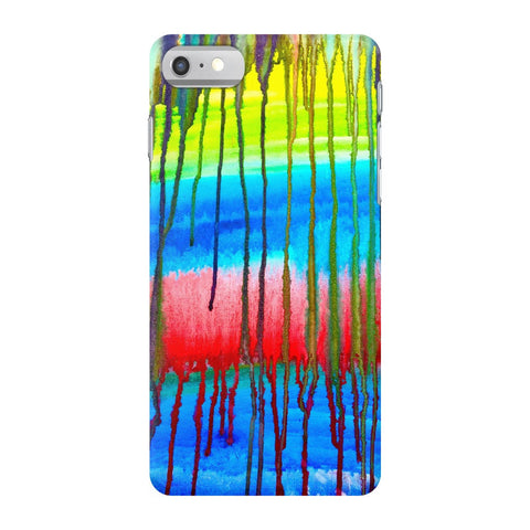 Colorful Icicle Abstract Phone Case