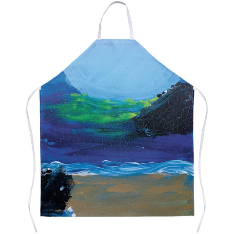 Blue Night Apron
