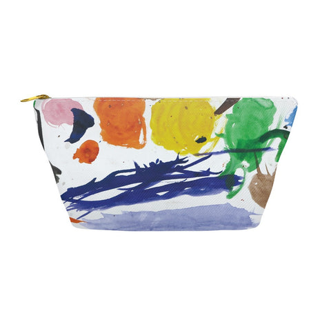 Colorful Abstract Accessory Pouch