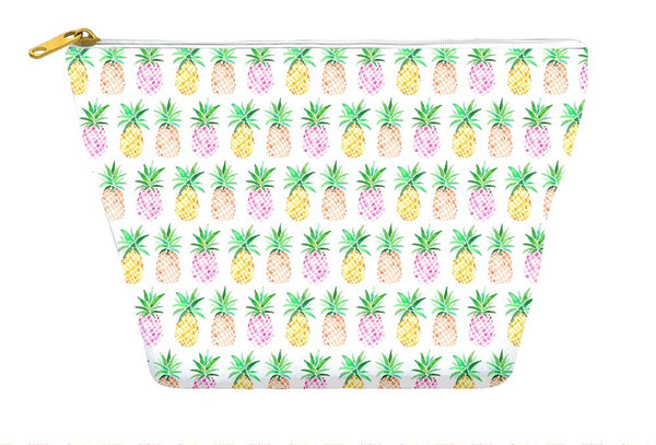 Watercolour Pineapple Accessory Pouch