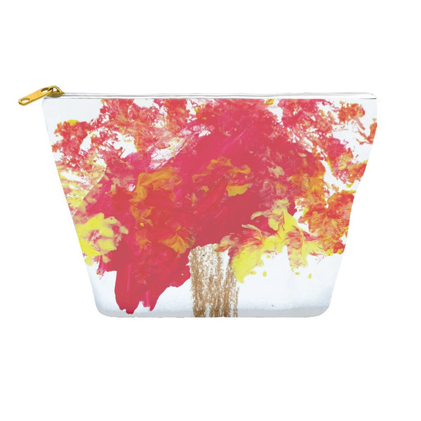 Red Tree Accessory Pouch