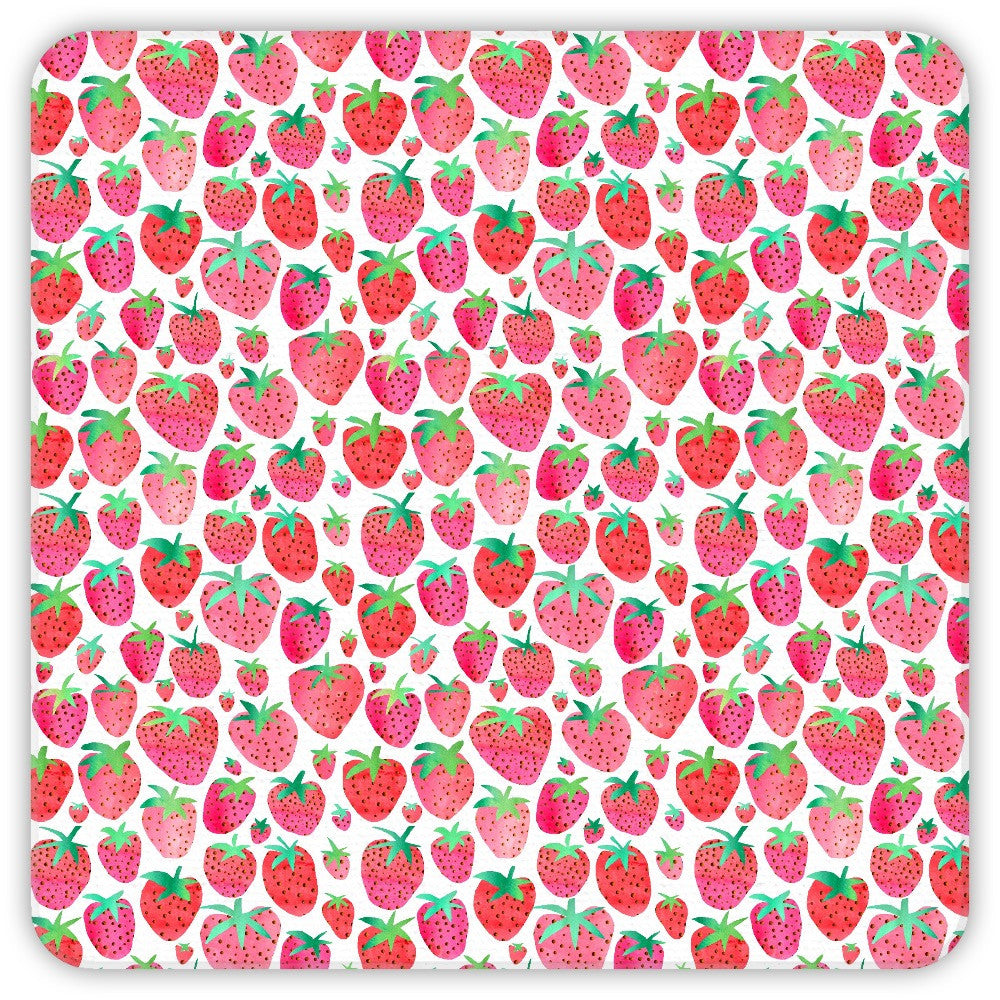 Strawberries Coasters